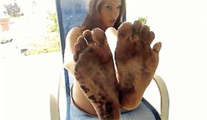 dirty foot pov