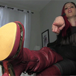 boots and chastity fetish